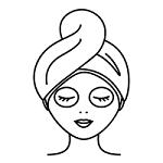 икона за грижа за кожата и козметика